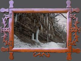 Зима ходьби від річки Віслок З Рудавці Риманівській до Нижніх Пулав