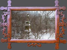 Зима на річці Віслок в Вернеївки